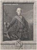 Неизвестный художник. Портрет императора Петра III.