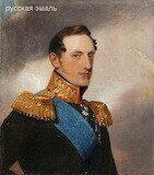 Неизвестный художник. Портрет императора Николая I. XIX век.