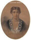 Беллоли Андрей Францевич (1820-1881). Портрет дамы. 1869 год.