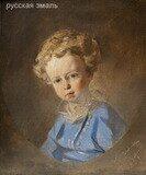 Макаров Иван Кузьмич (1822–1897). Портрет мальчика. 1847 год.