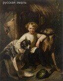 Жиро (Giraud), Пьер Франсуа Эжен (1806-1881). Мальчик из русской аристократической семьи. 1845 год.